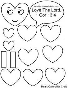 church house collection blog heart caterpillar valentine craft sunday kids