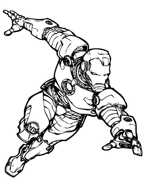 iron man comic coloring pages marvel comics iron man coloring page h m coloring pages
