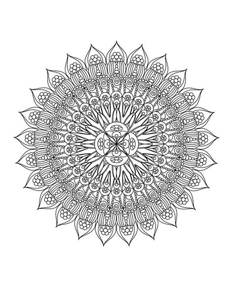 garden mandala coloring pages coloring flower mandalas a garden inspired coloring book