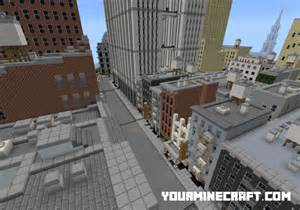 Minecraft New York City Map by New York City Map For Minecraft Pe Maps