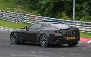 Aston Martin Mercedes 2018 Aston Martin V8 Vantage Spied Has Mercedes Amg M178