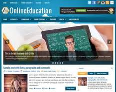 onlineeducation blogger template blogger templates 2018