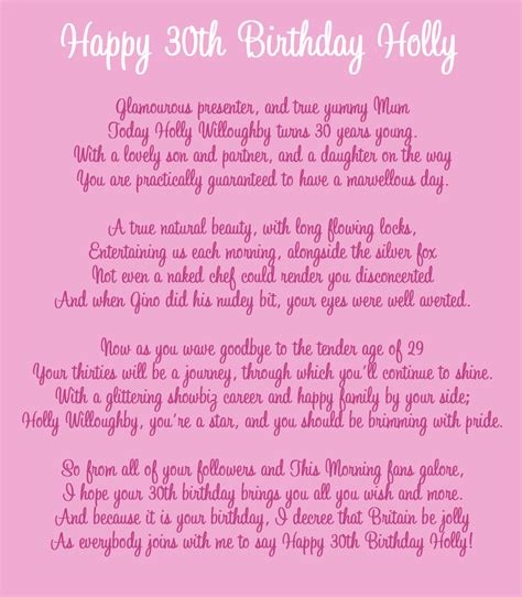 Happy Birthday Poems From by Happy Birthday Poems Free Large Images
