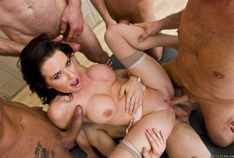 Wallpaper Gangbang Brunette Cocks Porn Star Fivesome Dick Dick Adorer Lovers Dick