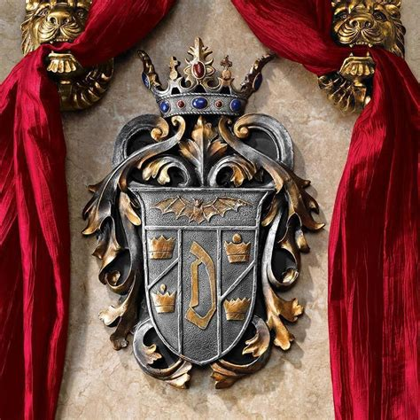 royal family tattoo uberlandia vire count dracula coat of arms shield gothic sculpture