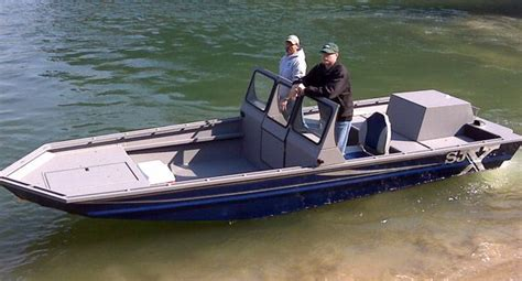 fast shallow water boats shallow water aluminium jet boat shallow water