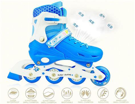 Pelindung Cooler roller skate dengan set pengaman size m blue jakartanotebook