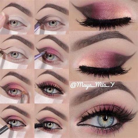 Tutorial Makeup Eyeshadow Pink | 71 likes