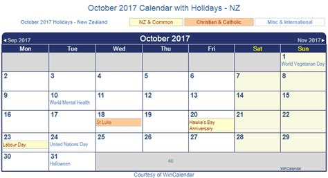 printable calendar 2014 new zealand print friendly october 2017 new zealand calendar for printing