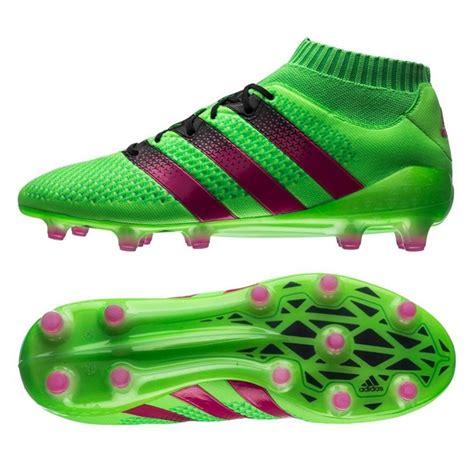 adidas ace  primeknit fg soccer cleats solar green