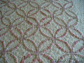 wedding ring quilts addicted to quilts wedding ring embroidery