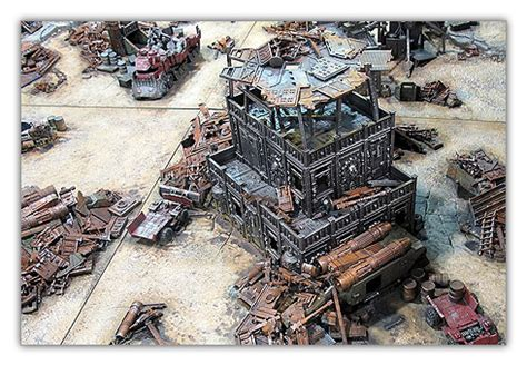 Decor Warhammer by Un Sublime D 233 Cor Ork Pour Warhammer 40 000