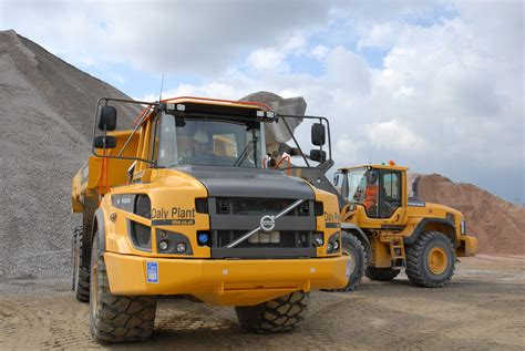 volvo adts  daly plant hire  cea construction equipment association
