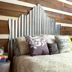 make an eye catching headboard bedroom wallpaper ideas 1000 images about corrugated metal on pinterest
