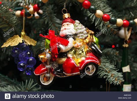 motorcycle santa christmas decorations www indiepedia org