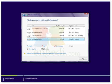 gpt format nedir uefi nedir windows 7 ve windows 8 uefi kurulumu nasıl