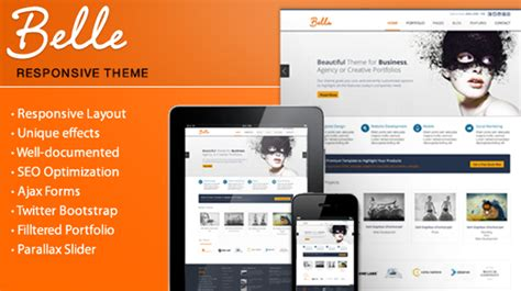 themeforest html themes nulled belle responsive html theme teslathemes free download