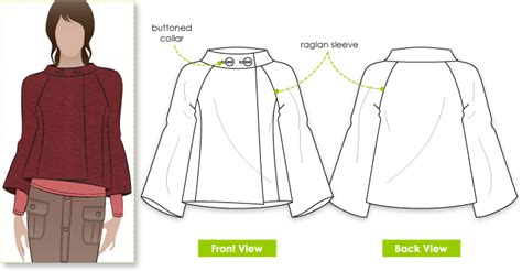 pattern making of jacket stylearc audrey jacket