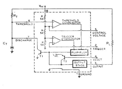 555 timer integrated circuit chip integrated circuits