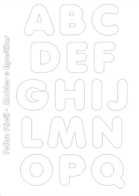 25 melhores ideias sobre letras em feltro no