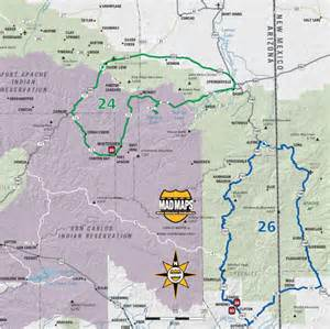 usrt030 arizona and utah mad maps scenic road trips