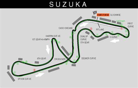 Suzuki Circuit Suzuka Circuit Formula One Race Track Suzuka City Japan