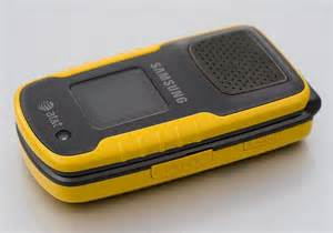 rugged at t phones samsung rugby a837 yellow waterproof rugged flip phone for