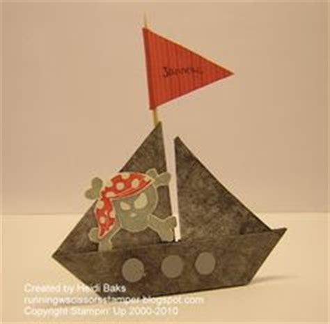 How To Make A Paper Pirate Ship - 1000 images about pirate on origami