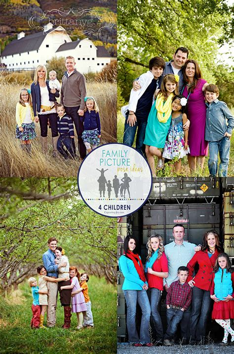 picture ideas for families family picture pose ideas with 4 children capturing joy