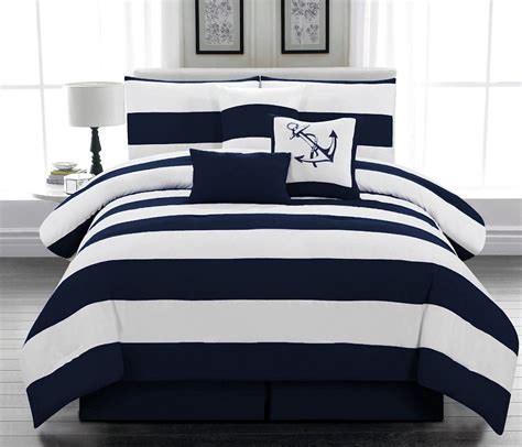 Nautical Bed Sheets by Themed Bedding Home Decorator Shop