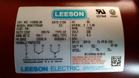 leeson electric motor wiring wiring a 2hp electric motor tools and tool