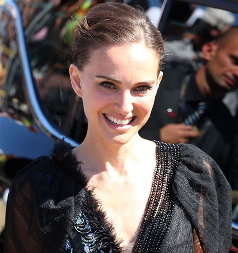 Natalie Portman Wardrobe by Natalie Portman On Display In See Through Dress