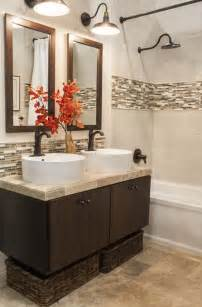 bathroom accent tile ideas 29 ideas to use all 4 bahtroom border tile types digsdigs