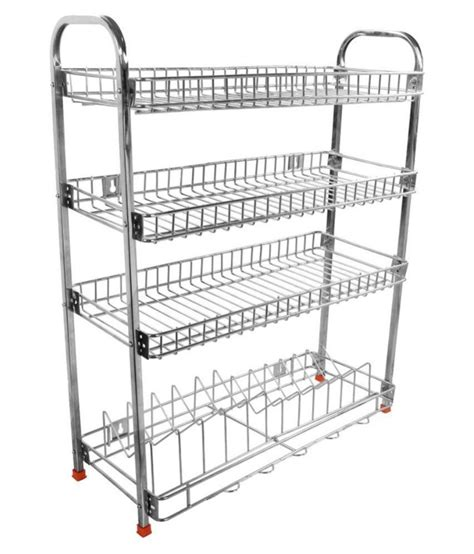 Metal Kitchen Rack by Buy Aarzoo Mudular Stainless Steel Kitchen Rack At