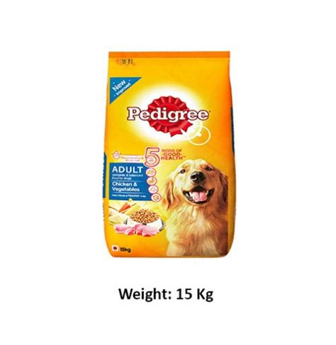 Pedigree Beef Can Food 1 15 Kg pedigree chicken and veg 15kg buy at petshop18