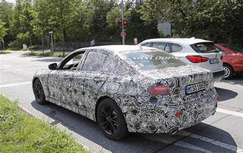Bmw 3 Series 2019 Headlights by 2019 Bmw 3 Series Prototype Reveals Production Lights