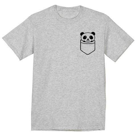 Tshirt Pocket Pandas by Panda Pocket T Shirt
