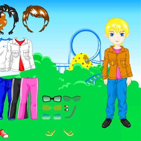 juego bestir juego vestir y peinar al chico para la feria juegos