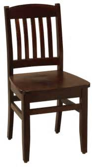 solid beechwood chairs mission style wood chairs