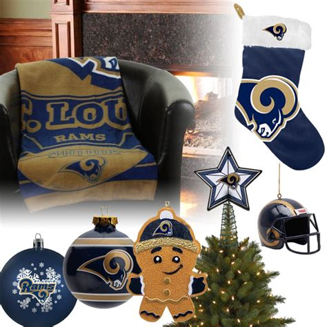 st louis rams christmas ornaments st louis rams