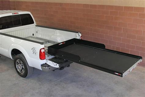 truck bed slider 2000 2012 gmc yukon xl truck bed drawers slides cargoglide cg2000xl 6347