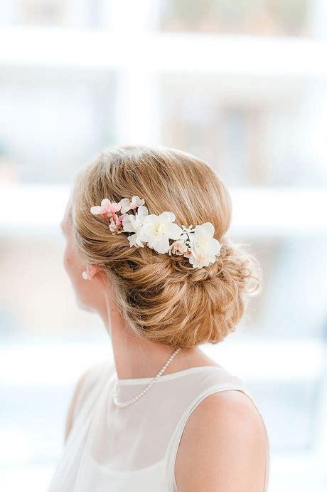 Schlichte Brautfrisuren by Hochzeitsfrisur Schlicht