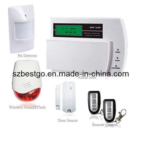 china wireless diy burglary gsm alarm system for home
