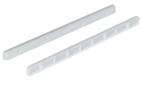 Plastic Drawer Slide Guides by Hafele 430 15 701 Drawer Guide Rail Plastic White