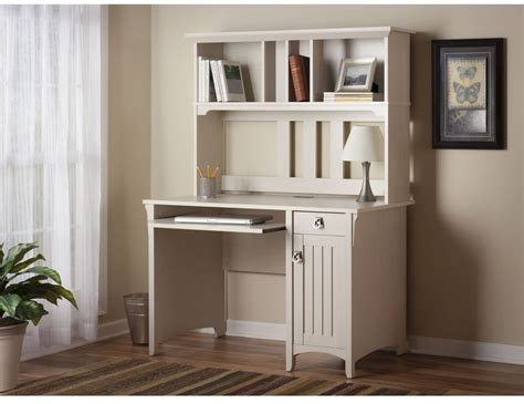 white office desk with hutch computer desk with hutch wood home office furniture