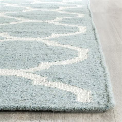 10 x 14 dhurrie rugs safavieh woven moroccan reversible dhurries blue