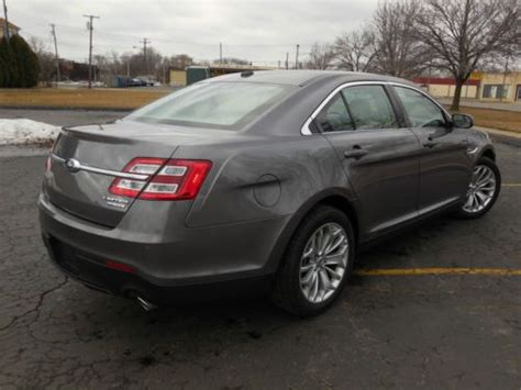 2014 ford taurus limited find used 2014 ford taurus limited sedan 4 door 3 5l in