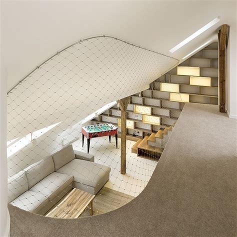 Banister Netting by Mezzanine En Filet D Acier