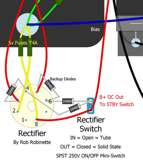 how to test a diode rectifier 5f6a mods