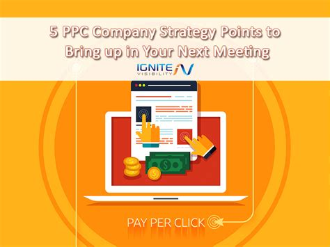 5 Ppc Company Strategy Points To Bring Up In Your Next Meeting Ppc Strategy Template